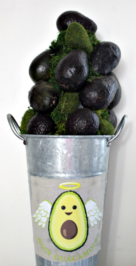 Holy Guacamole! It's An Avocado Topiary! Our Crafty Mom #craftandcreatewithcricut #cricutmade #ourcraftymom