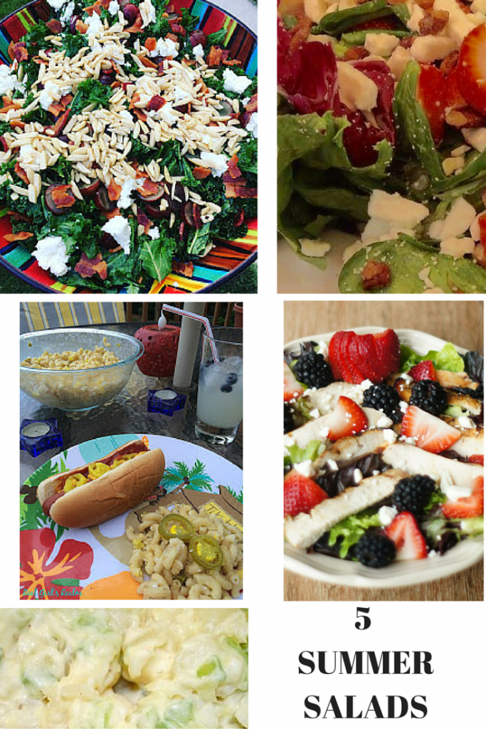 7 Super Simple Salad Recipes That You Will Love Our Crafty Mom #saladrecipes #merrymonday #recipes #ourcraftymom