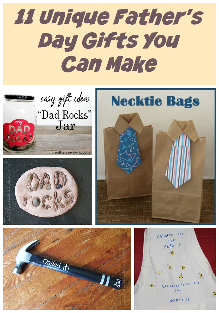 Fabulous Father's Day Gift Ideas You Can Make Our Crafty Mom #merrymonday #fathersday #diygiftideas