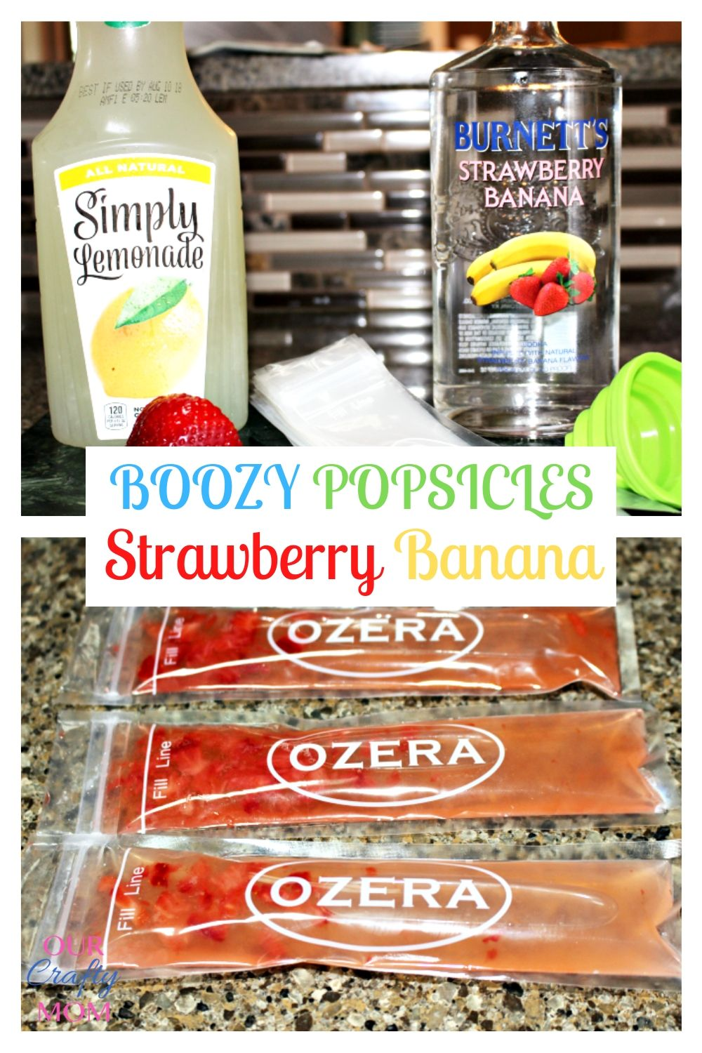 boozy adult popsicles