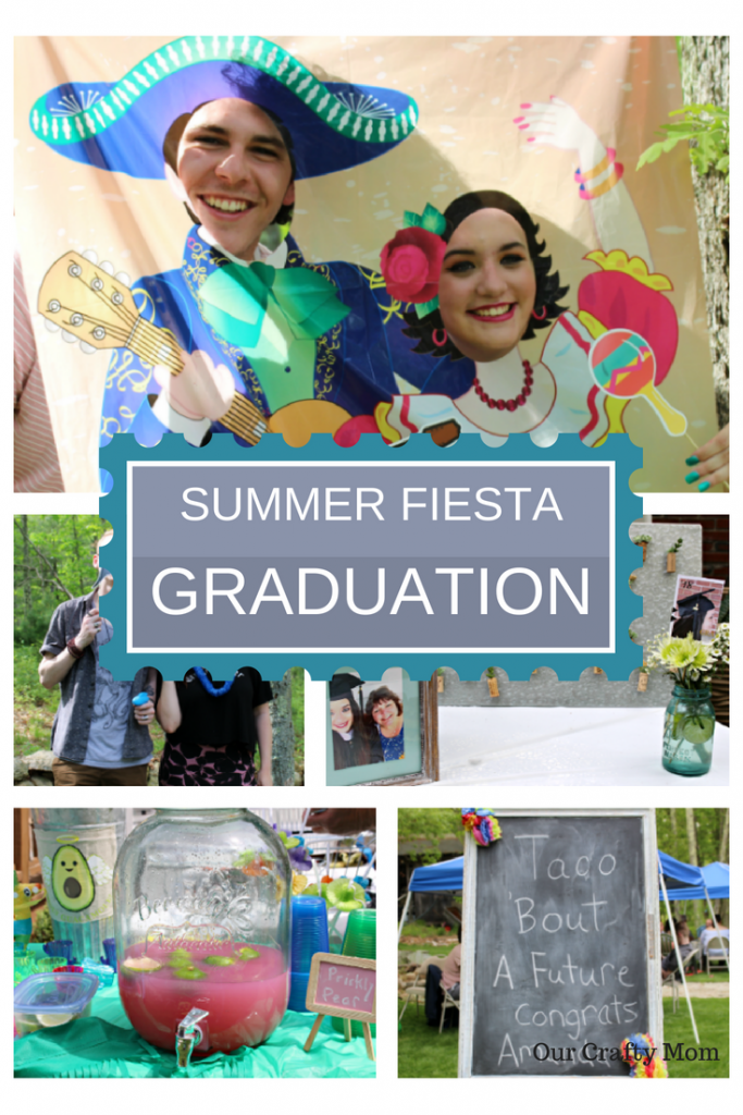 **GIVEAWAY** Host The Perfect Summer Fiesta Graduation Party And Giveaway Our Crafty Mom @OrientalTrading #summerfiesta #graduationparty #ourcraftymom #ad #graduation