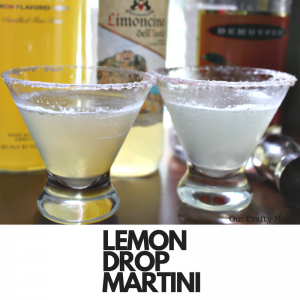 How To Make The Perfect Lemon Drop Martini Our Crafty Mom #summercocktails #cocktailrecipes #lemondropmartini
