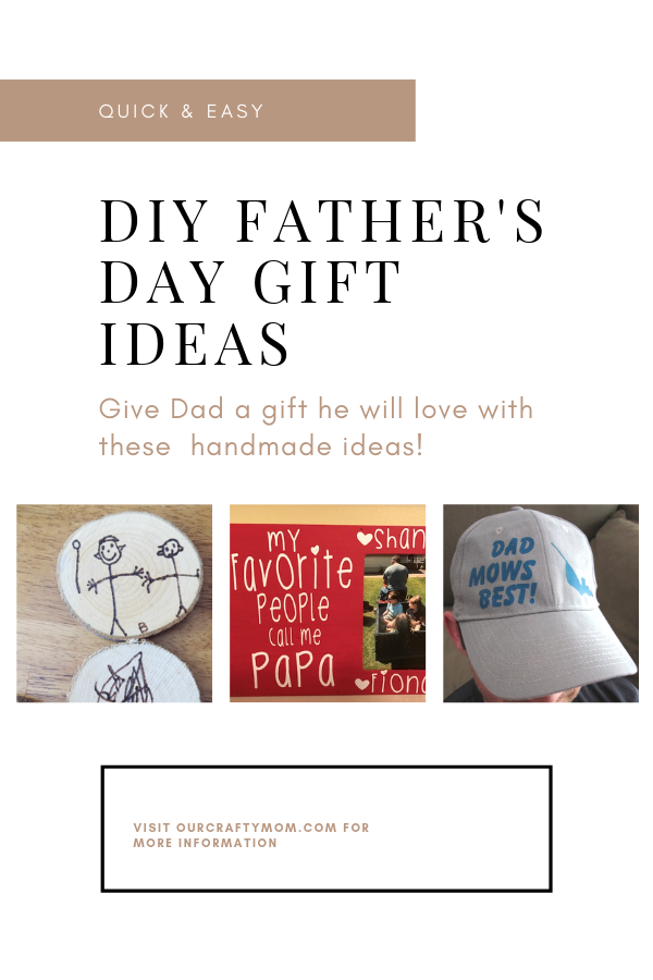 quick & easy diy ideas for father's day