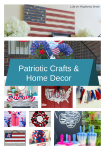 Quick And Easy Red, White & Blue Crafts And Home Decor