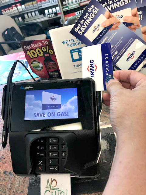 and swipe your irving rewards card for a chance to win you will receive a digital ticket directly to your email when you make a qualifying transaction - Irving Rewards Card