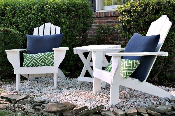 Adirondack Chair Makeover