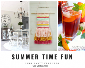 Summer Time Fun Link Party Features