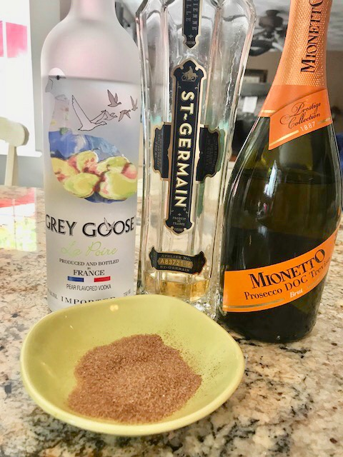The Perfect Pear and Elderflower Martini Recipe Our Crafty Mom #martini #summercocktail #pearmartini
