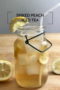 Easy And Refreshing Spiked Peach Iced Tea Recipe
