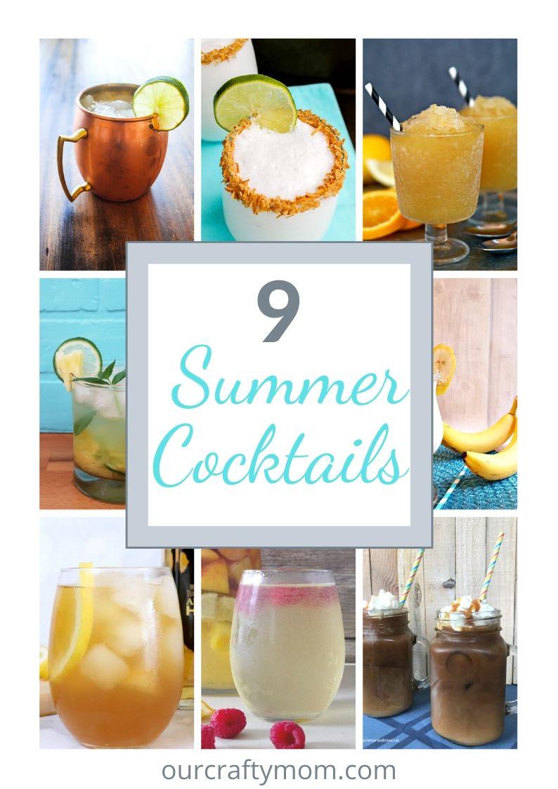 9 summer cocktails