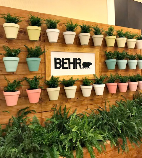 Behr Paint Display Haven Conf