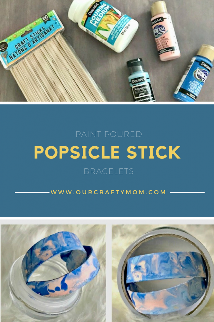 Popsicle Stick Bracelets Our Crafty Mom
