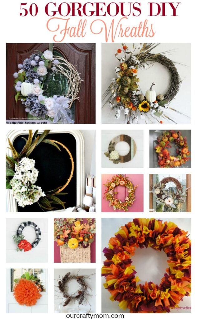 50 Gorgeous DIY Fall Wreaths