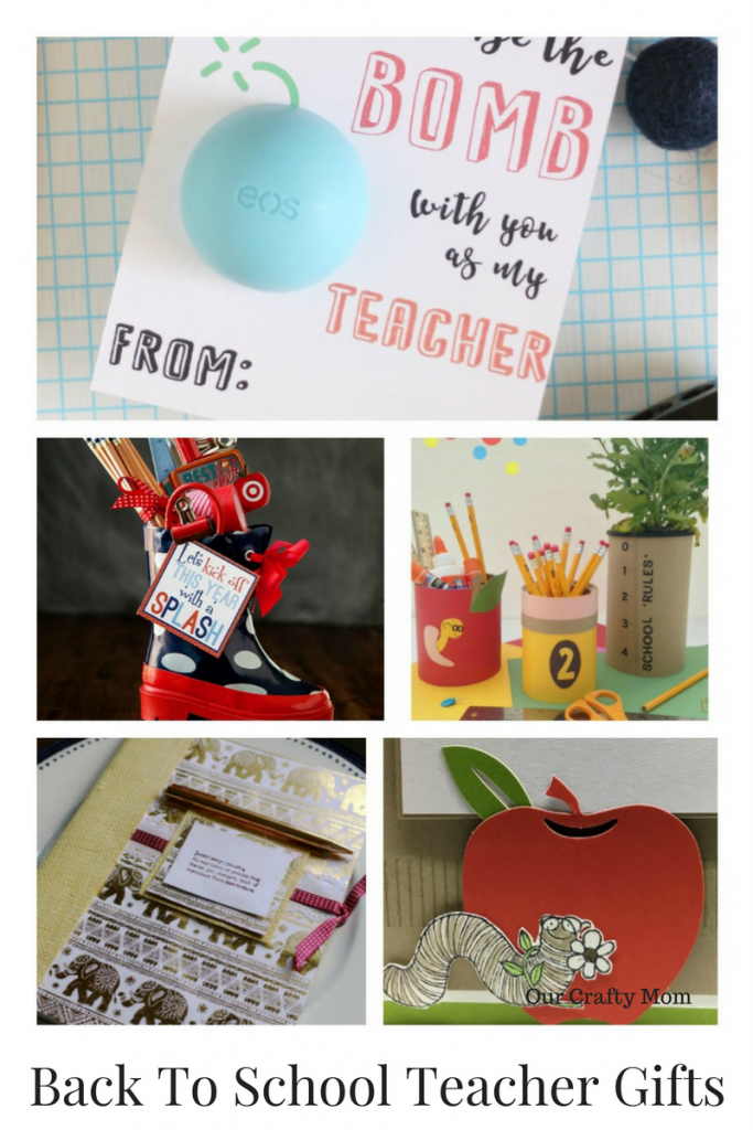 Back To School Teacher Gifts Our Crafty Mom