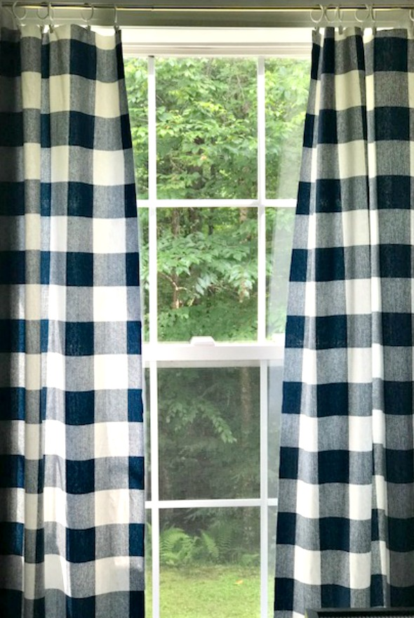 Buffalo Check Curtains Our Crafty Mom