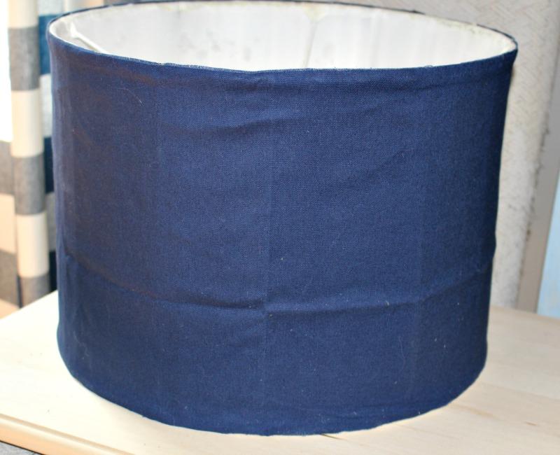 Fabric Drum Shade Our Crafty Mom