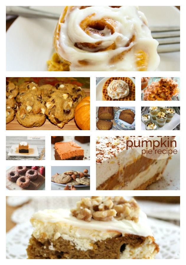 12 Scrumptions Pumpkin Dessert Recipes Our Crafty Mom