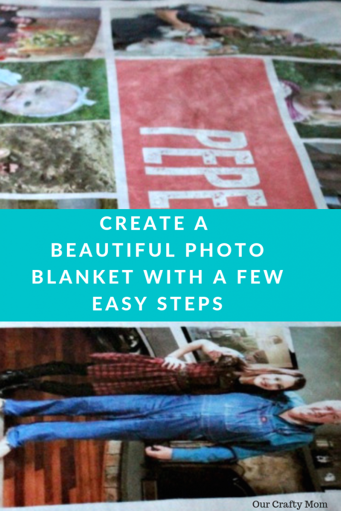 CREATE A BEAUTIFUL PHOTO BLANKET WITH A FEW EASY STEPS