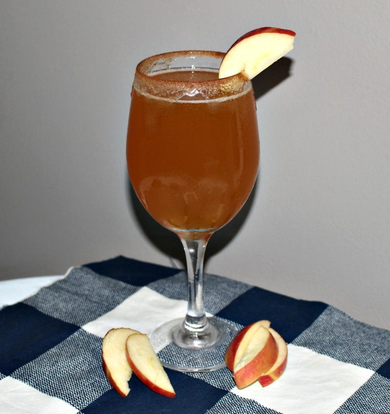 Crisp And Delicious - Sparkling Apple Pie Cocktail Our Crafty Mom