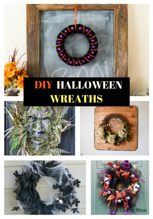 10 Fun Halloween Wreaths Our Crafty Mom