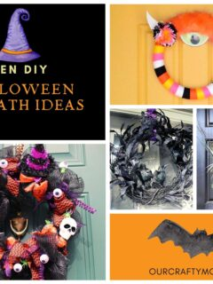 Halloween pin collage with text overlay