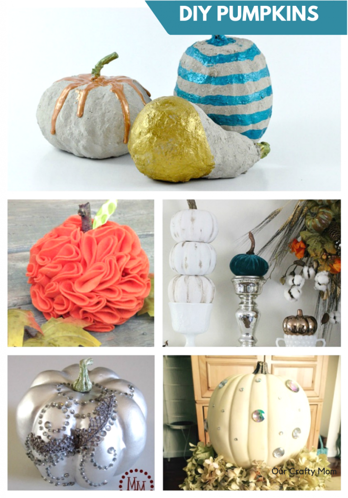 Decorate For Fall With Pumpkins Our Crafty Mom