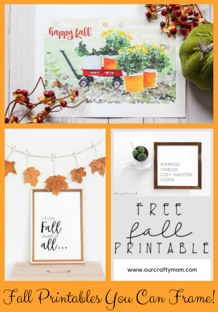 Fall Home Decorating Merry Monday Features Our Crafty Mom