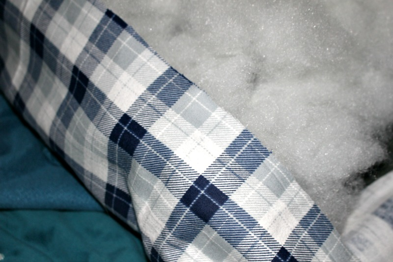 Flannel Pillow With Poly Fil Our Crafty Mom