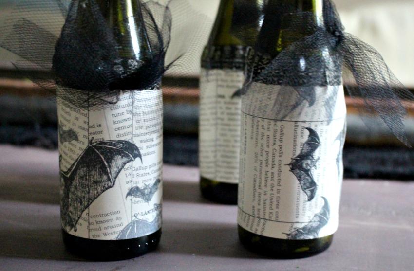 Halloween Bottles