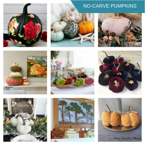 20+ Creative No-Carve Pumpkin Decorating Ideas