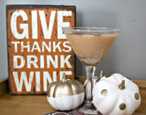 How To Make A Pumpkin Pie Martini