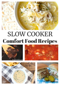Slow Cooker Comfort Recipes Our Crafty Mom