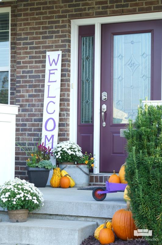 Festive Fall Porch Round Up Our Crafty Mom