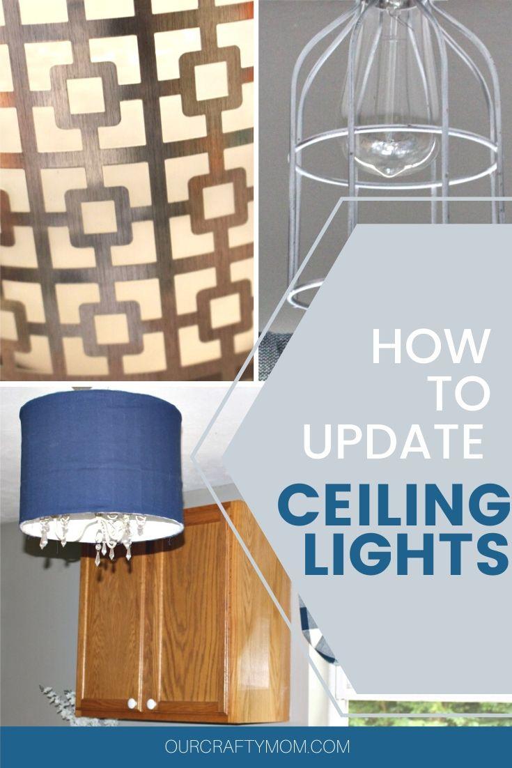 Ceiling lights diy