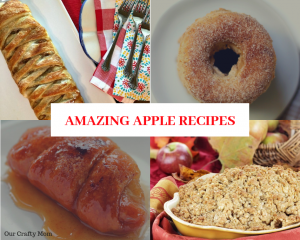 8 Amazing Apple Recipes You Must Try! #ourcraftymom