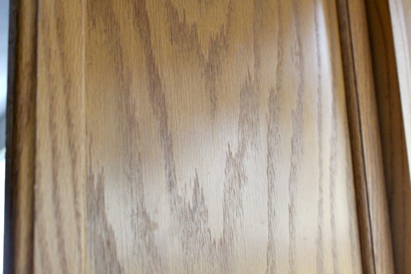 Cleaned Cabinets With TSP