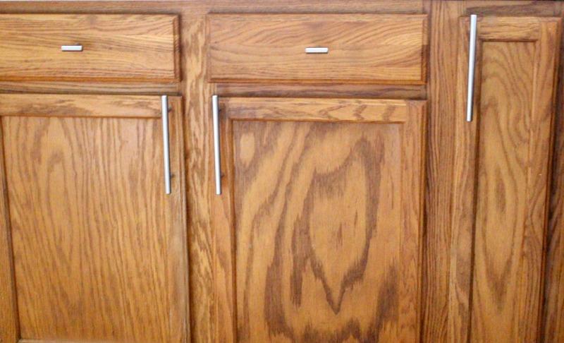 Close Up of large bar pulls