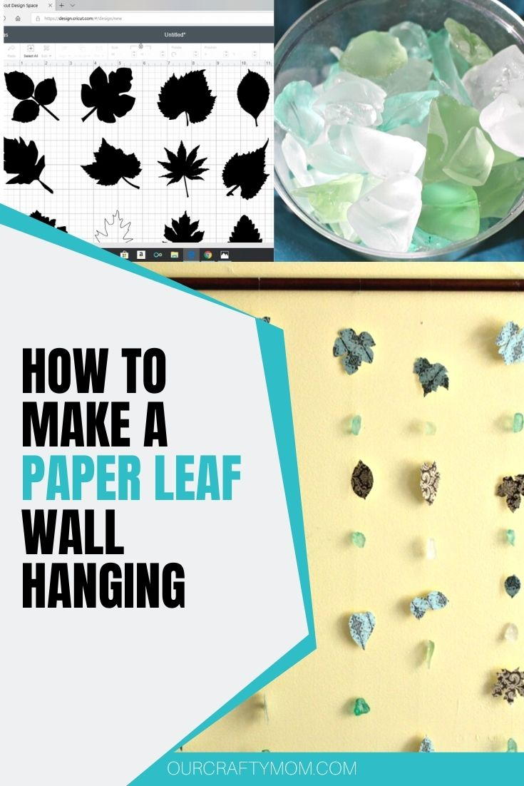 paper leaf wall hanging