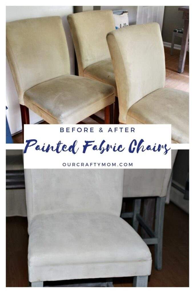 before and after painted chairs