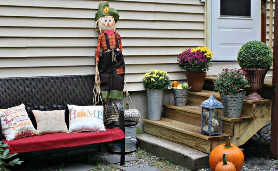 Surprising Beautiful Small Porch Decorating Ideas For Fall Our Crafty Mom Gmtry Best Dining Table And Chair Ideas Images Gmtryco