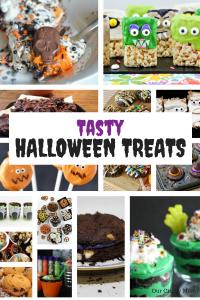 15 Tasty Halloween Treats The Kids Will Love! #ourcraftymom #halloweentreats #halloween #halloweensnacks
