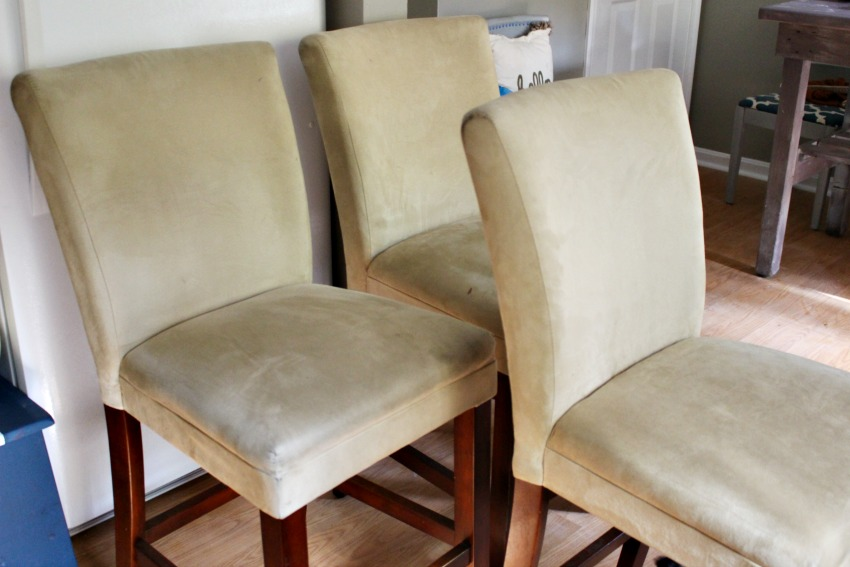 Thrift Store Chairs Before