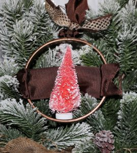 Bottle Brush Tree Ornaments