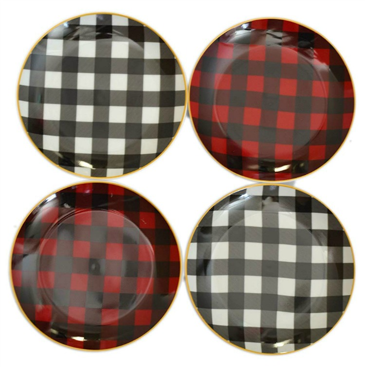 Buffalo Plaid Dinnerware