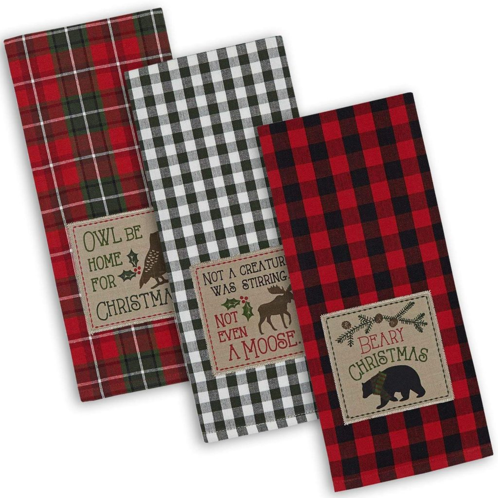 Buffalo Plaid Dish Towels