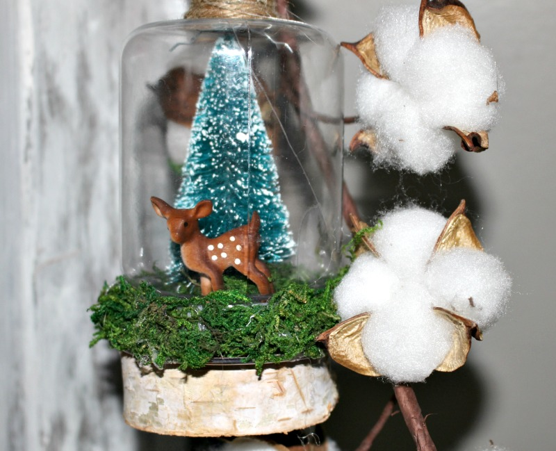 Dollar Store Snow Globe Ornament Our Crafty Mom