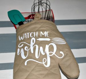 Finished Image Oven Mitt