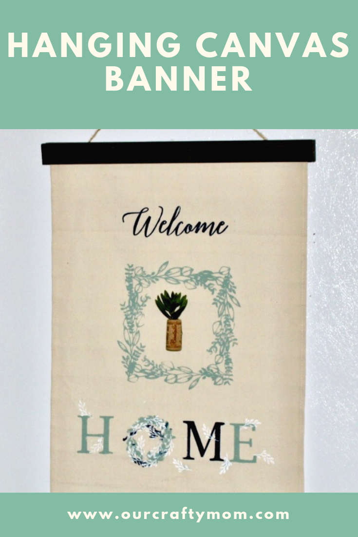 HANGING CANVAS BANNER