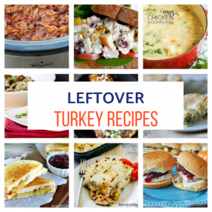 10 Simple And Delicious Leftover Turkey Recipes Featured at Merry Monday Our Crafty Mom