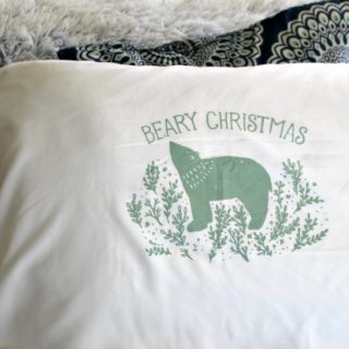 Reversible Christmas Pillows Our Crafty Mom